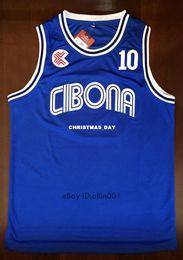 f71c47c5c Cheap custom  10 DRAZEN PETROVIC jerseys Croatia Cibona BASKETBALL JERSEY  Blue Stitched Customize any number name MEN WOMEN YOUTH XS-5XL