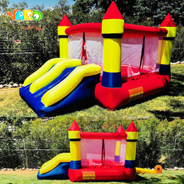 YARD Free Shipping Dual Slide Bouncy Castle Inflatables Jumping Pool Happy Amusement Park For Kids Healthy Exercise on Sale