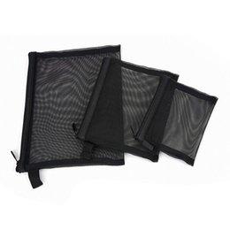 Travel Pillow Kits Wholesale Australia - LJL Zipper Mesh Bags, Pack of 3 (S M L), Beauty Makeup Cosmetic Accessories Organizer, Travel Toiletry Kit Set Storage Pouch,