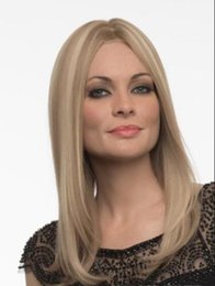 Human Hair Wig Beautiful UK - 100% Human Hair beautiful wig Mixed Blond Special Offer