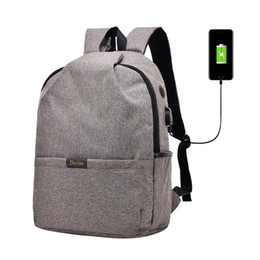 $enCountryForm.capitalKeyWord UK - USB Charge Anti Theft Backpack for Men 15 inch Laptop Mens Backpacks Fashion Travel School Bags Bagpack sac a dos mochila #30 #187109