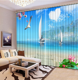 Landscape Scenery Beauty Digital Photo Printing Blackout 3d Curtains For Living Room Bedding Room Hotel Drapes Cortinas Matching In Colour Home