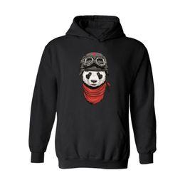 Panda Cartoon Color Australia - Hot Sale Panda Hoodies Men Black Cotton Men Hoodies Panda Cartoon In Mens Hoodies And Sweatshirt Xxs-3xl
