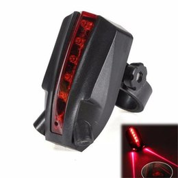 $enCountryForm.capitalKeyWord Australia - G0 Ultra Bright Cycling 2 Laser+5 LED Rear Bike Bicycle Tail Light Beam Safety Warning Red Lamp Accessories Retail&Wholesale A1 #122001