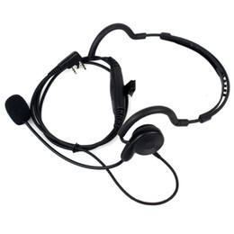 $enCountryForm.capitalKeyWord Australia - 2 Pin Radio Earpiece Mic PTT Headset for BAOFENG UV-5R 777 888s for Kenwood TK-208 TK-220 TK-240 PUXING Walkie Talkie C2036A