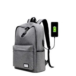 Wholesale MoneRffi Fashion Man Laptop Backpack Usb Charging Computer Backpacks Casual Style Bags Large Male Business Travel Bag Backpack