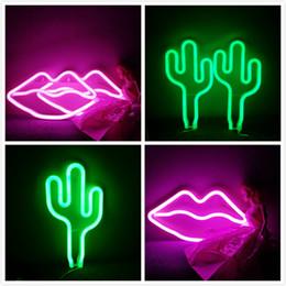 $enCountryForm.capitalKeyWord Australia - 11 Colors Neon Neon Light,LED Lips Kiss Sign Shaped Decor Light,Wall Decor For Valentine's Day Birthday party