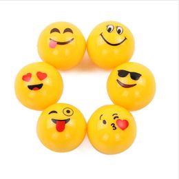 $enCountryForm.capitalKeyWord Australia - Emoji Lip Balm 24pcs for Girl Magic Cute Cartoon Moisturizing Hydrating Lipstick for Autumn Winter Yellow Ball Lip Balm Wholesale 3001359