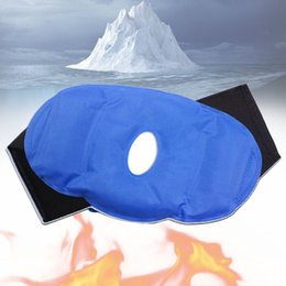 reusable gel packs NZ - Ice Therapy Wrap Pain Relief Surgery Sports Injuries Adjustable Reusable Heat Knee Patch Hot And Cold Gel Pack Breathable