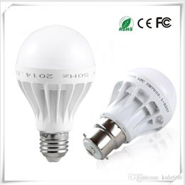 Free Energy Saving Bulbs Australia - Free Shipping High Quality 3W 5W 7W 9W 12W LED Bulbs Energy-Saving Light E27 Base Globe Light Bulb Wholesale Cheap Lightings Lamp 220V-240V