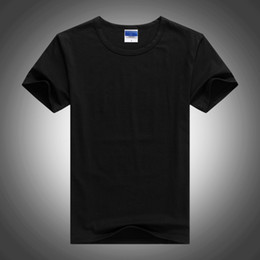 c297c312bf9 China factory wholesale cheap T shirt Men 2019 Summer 100% cotton Blank T- shirts Urban plain Men Tee Shirts for printing