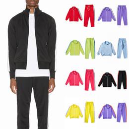Wholesale mens red cardigans resale online – 20ss mens womens designer tracksuit Sweatshirts Suits men track sweat suit coats mans jackets coat hoodie sweatshirt Sportswear