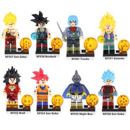 $enCountryForm.capitalKeyWord NZ - Dragon Ball Z Burdock Son Goku Broli Majin Buu Trunks Gotenks Mini Action Figure Toy Building Block Bricks
