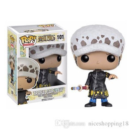 Discount one piece law toys - low price Funko POP Anime: One Piece TRAFALGAR LAW Vinyl Action Figure With Box t167 Popular Toy Gift
