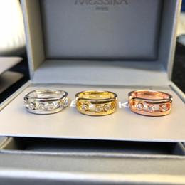 $enCountryForm.capitalKeyWord Australia - Designer Rings Move Collection Cutout Diamond Slip Rings Luxury Fashion Accessories Paris Independent Designer Jewelry Mobile Diamonds