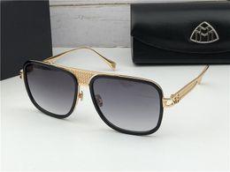 67e19f9c4ee4 Top luxury K gold men eyewear THE PREMIERcar brand Maybach designer glasses  pilot itanium frame top quantity outdoor uv400 sunglasses