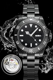 Fold machine online shopping - Top Quality Watches Automatic Machine Watch The latest SUB Waterproof m Night Glow Collection Watch L Steel Strip Work