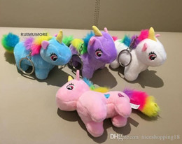 New toys low prices online shopping - low price Cute Medium CM Approx Colors Unicorn Stuffed Animal Plush Toys Gift key chain Plush DOLL TOY
