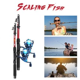 baiting suit Australia - Fishing Gear Suit Rod Reel Combo Lake Outdoor Sport Hollow Pendant Bait Cage Practical Fishing Rod Combination Portable Durable