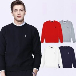 Wholesale new best selling high end casual fashion round neck men s polo sweater brand cotton pullover men s sweater