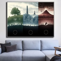 $enCountryForm.capitalKeyWord Australia - LOTR Middle Earth The Lord Of The Rings Canvas Prints Picture Modular Painting For Living Room Poster On The Wall Home Decor