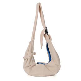 $enCountryForm.capitalKeyWord UK - Reversible Travel Adjustable Sling Carrier Practical Portable Shoulder Bag Soft Washable Single Cloth Durable Dog Cat Pet
