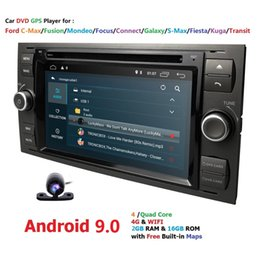 Ford Focus Player Australia - Ossuret Car Multimedia Player GPS Android 9.0 2 Din Stereo System Radio For Ford Focus Mondeo Kuga Octa Core Wifi Microphone DVR