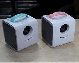 Av Speakers Australia - Q2 LCD Mini Kid's Story Projector 1080P HDMI AV TF USB 110-240V 30 Lumens Build-in Speaker 1pcs lot