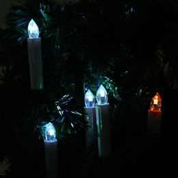 Tree sTicks online shopping - Eco Friendly LED Candles RGB Light Bulb Battery Operated Wedding Christmas Party Home Tree Decor with Remote Controlcoration Candles