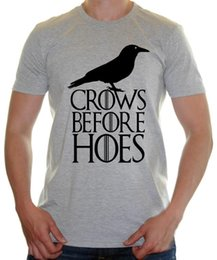 $enCountryForm.capitalKeyWord NZ - ' Crows Before Hoes ' Game Of thrones Inspired - Mens Funny t-shirtFunny free shipping Unisex Casual Tshirt