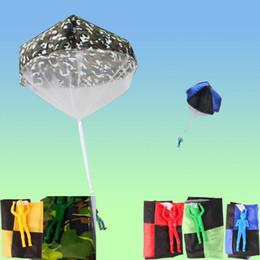 Alphabet Games Australia - Fashion New Cartoon Soldier Shape Parachute Toys Kids Outdoor Fun Game New Soldier Parachute Toys