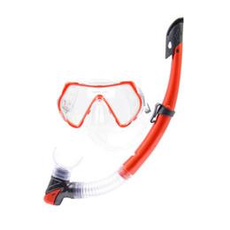 $enCountryForm.capitalKeyWord Australia - New Swimming Goggles Diving Mask Dry Top Snorkel Adjustable Snorkeling Gear Kit LMH66