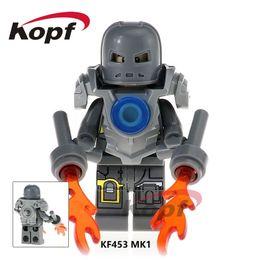 Chinese  Marvel Super Heroes Infinity War Guardians of Galaxy Avengers Movies & Video Game & Cartoon Blocks Toys Figures Kopf Blocks KF453 manufacturers