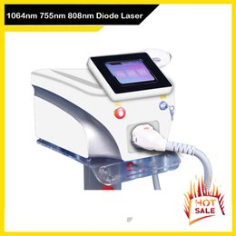 used co2 lasers Canada - Spa Use Diode Laser Permanent Skin Rejuvenation Hair Removal Beauty Machine 755nm 808nm 1064nm Free Shipping