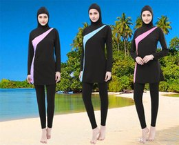 019f5607880ec Muslim Swimwear Islamic Swimsuit Australia - Muslim Swimsuit Women Swimwear  Islamic Beach Wear Ladies Long Sleeve