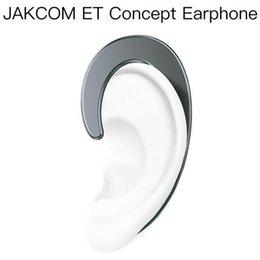 Опт JAKCOM ET Non In Ear Concept Наушники Горячая распродажа в наушниках Наушники как слайдер камеры графический дизайнер смотреть женщины