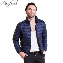 1db0ae905f22 Discount ultra light down jacket plus size - Maxfresh New Autumn Winter Man  Duck Down Jacket