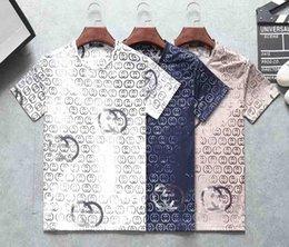 Money Print Shirts Australia - Mens Luxury Money Letter Print T-Shirts Brand Short Sleeve Tshirt Designer Tees Males Fashion Loose Streetwear Tees Tops m-3xl
