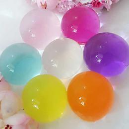 $enCountryForm.capitalKeyWord Australia - gel balls 30Pcs 5cm Growing Magic Jelly Soil Bio Gel Ball for Flower Plants Pearl Crystal Soil Water Beads Mud Home Decor