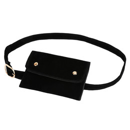 $enCountryForm.capitalKeyWord NZ - Fashion Women Pure Color Square Flock Messenger Bag Chest Bag Waist travel accessories belt heuptas Drop Shipping