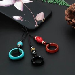 $enCountryForm.capitalKeyWord Australia - Personality Creative Hanging of Phone Hanging Rope Chinese Wind Hanging Key Anti-loss Rope U-disk Finger Ring Buddhist Mobile Phone Chain