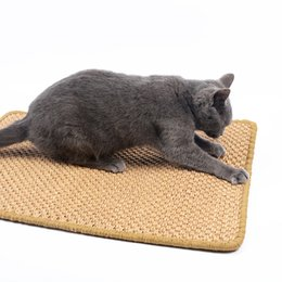 pet cool pad UK - Large Size Sisal Cat Scratcher Board Scratching Post Mat Toy for Catnip Tower Climbing Tree Pad Cooling Litter Mat Lounger Pet