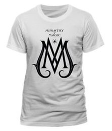 Cotton deCo online shopping - FantaSummeric BeaSummers The Crimes Of Grindelwald MiniSummerry Deco Logo White T Shirt