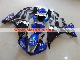 $enCountryForm.capitalKeyWord Australia - High quality New ABS Molding motorcycle Fairings Kits Fit For YAMAHA YZF-R1-1000 2009 2010 2011 09 10 11 Fairing bodywork set white blue