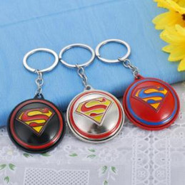 red batman figure Australia - 19styles NEW Marvel Avengers Thor's Hammer Mjolnir Keychain Captain America Shield Hulk Batman Mask KeyChain jssl01