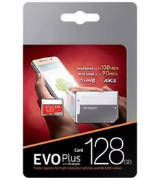 2019 Hot Selling Black Red EVO + Plus Class 10 256GB 64GB 32GB 128GB Flash TF Card Memory Card C10 Adapter PRO PLUS Class 10 100mb s on Sale