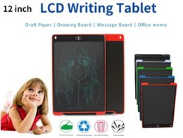 $enCountryForm.capitalKeyWord Australia - 12 inch LCD Writing Tablet Touch Pad Office Electronic Board Magnetic Fridge Message Stylus Kids Birthday Christmas Day Gifts