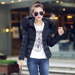 Light pink down coat online shopping - Parkas Woman Winter Light Down Jacket with Fur Hood Duck Down Female Long Coat Ladies Clothing Ukraine