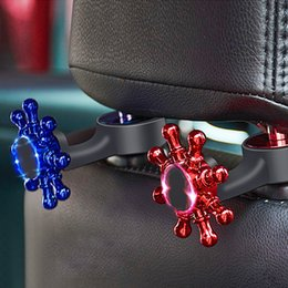 $enCountryForm.capitalKeyWord Australia - Two-in-one Car Hook Chair Back Hidden Rear Mobile Phone Bracket Multi-function Hook
