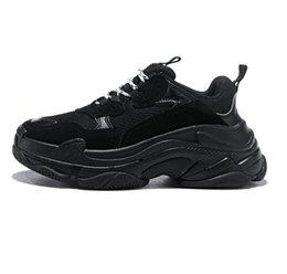 $enCountryForm.capitalKeyWord Australia - Fashion Paris Tri leFashion Casual Shoe Designer Brand Paris Triple S Casual Sports Shoes Best quality Chaussures Fashion Dad Sneakers 36-45